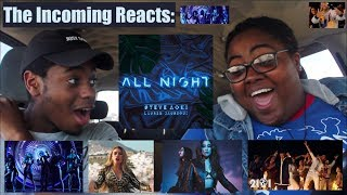 ALL NIGHT, BOOM BOOM MUSIC VIDEO & POR FAVOR LIVE! | REACTION!