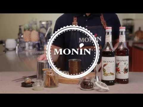 Pumpkin Spice Masala Latte with MONIN Pumpkin Spice syrup and MONIN Chai Tea syrup  English