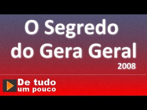 o programa gerageral2008