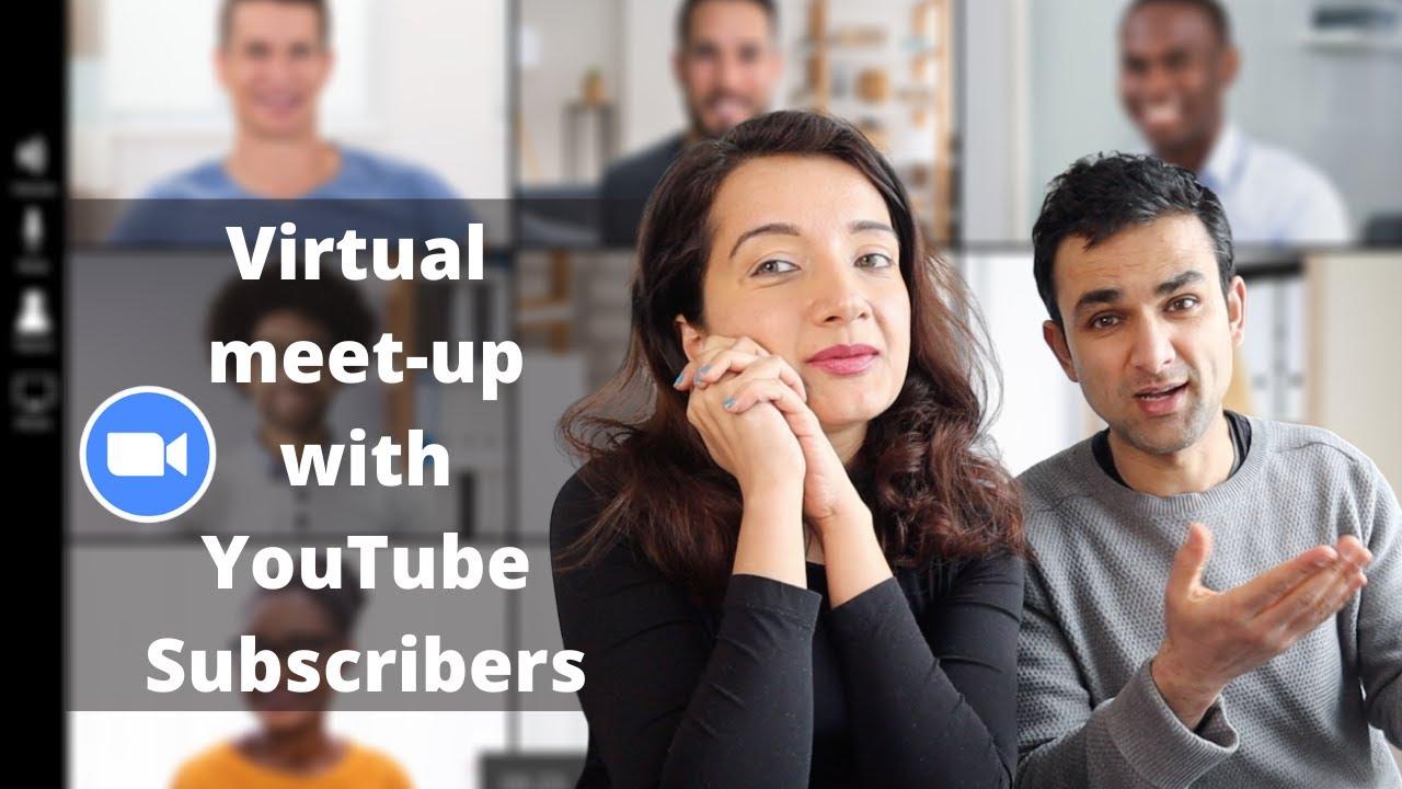 WE MET OUR YOUTUBE SUBSCRIBERS VIRTUALLY | हमारे YouTube subscribers के साथ एक वीडियो कॉल |