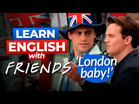 Download Learn English with Friends | Joey Gets Lost in London