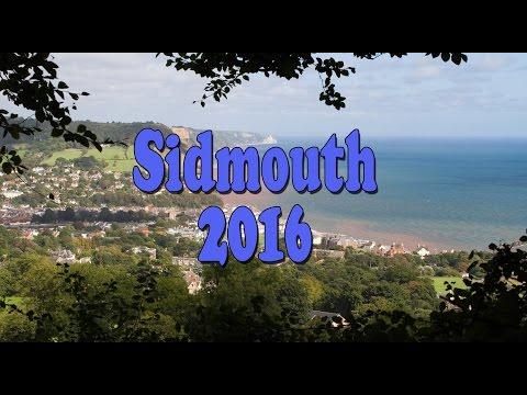 Sidmouth 2016 in Devon UK