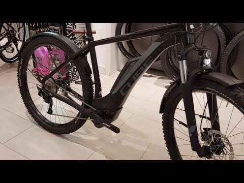 3ea51f83310 CUBE REACTION HYBRID Pro Allroad black´n´grey Bosch E-Bike Modell 2018