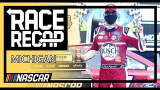 Mich-again for Kevin Harvick | NASCAR at Michigan