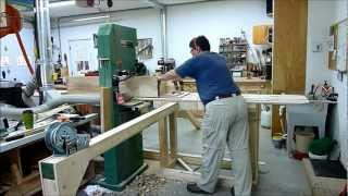 How-to Mill Large Logs On Your Shop Bandsaw