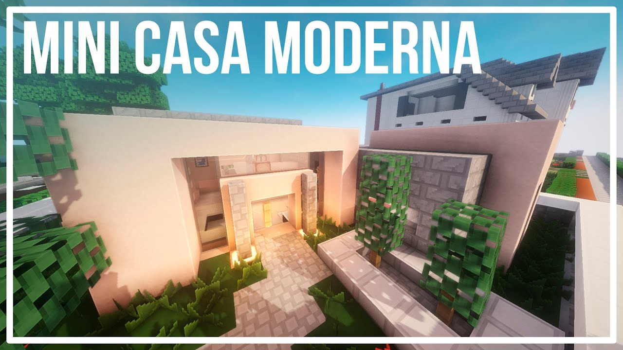 mini casa moderna inspiraci n minecraft youtube