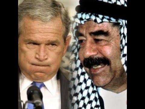 شآهد مقطع يوضّح عزة نفس صدام حسين وشموخ ذاته أمام أعدائه !!!
