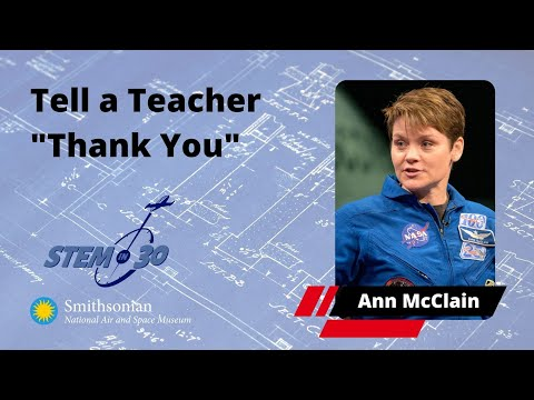 Astronaut Anne McClain Says