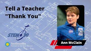 """Astronaut Anne McClain Says """"Tell a Teacher"""