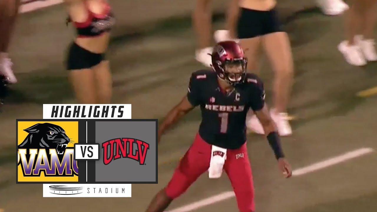 brand new 2af26 a43e5 Prairie View vs UNLV Football Highlights (2018) | Stadium