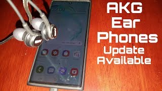 Update Available AKG Earphones…