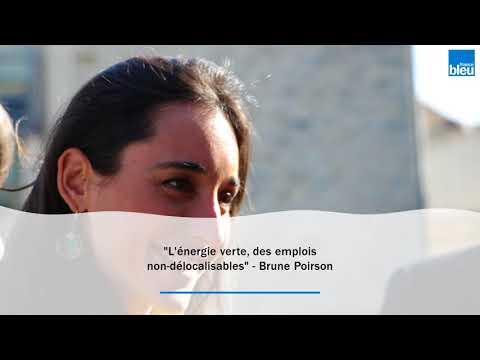 """L'énergie verte, """"des emplois non-délocalisables"""" pour Brune Poirson"""