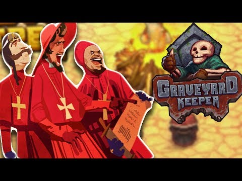 BURN THE WITCH! | Graveyard Keeper Gameplay Let's Play #2