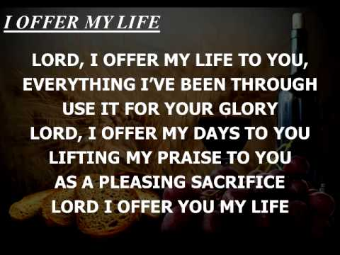 I Offer My Life Instrumental