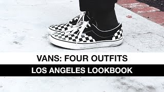 Vans: Four Outfits | Los Angeles Lookbook