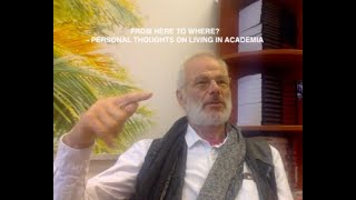 Personal Thoughts on Living in Academia