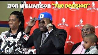 "Zion Williamson ""The Decision"" - Official EliteMixtapes Coverage of Zion"