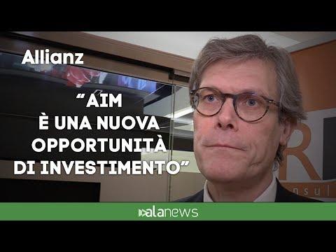 """Allianz, Ghiro: """"AIM è una nuova opportunità di investimento"""""""