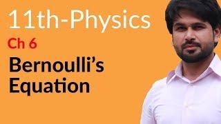 First year Physics Bernoulli