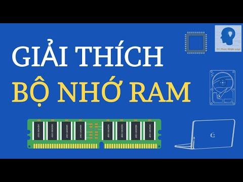 Giải thích bộ nhớ RAM   Bộ nhớ RAM là gì ?   Tri thức nhân loại