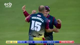 vuclip Afridi's sixes can't down Billings - Kent Spitfires v Hampshire