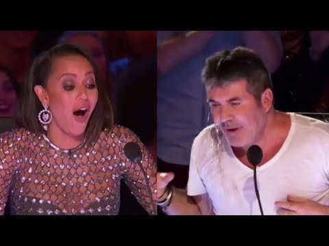 Mel B Standing Up To Abuse From Simon Cowell | America's Got Talent 2017