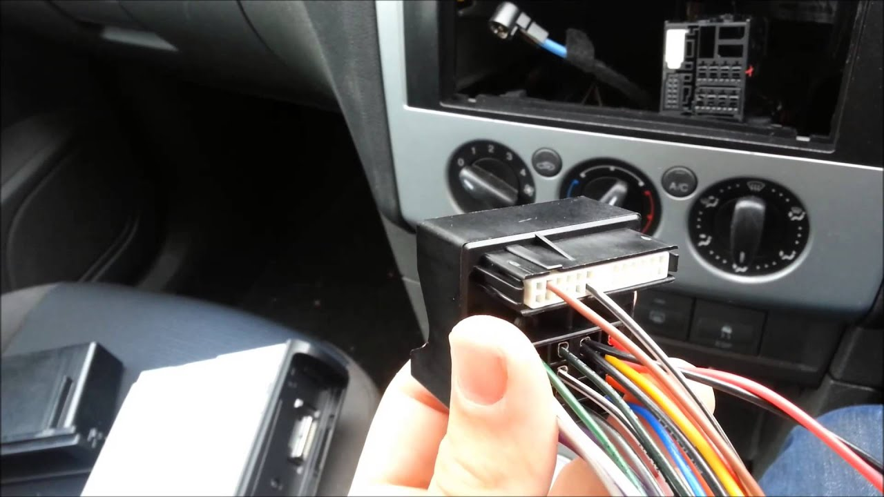 medium resolution of ford focus 2005 mark 2 radio removal installation