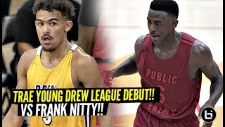 Trae Young GOES IT IT vs Drew League MVP & Drops CRAZY 31 Points!! Montrezl Harrell Drops 46!!