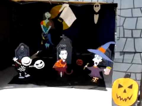 Nightmare Before Christmas trunk or treat 2011 - YouTube
