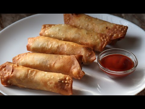 Crispy egg spring rolls recipe egg spring rolls recipe iftar recipes
