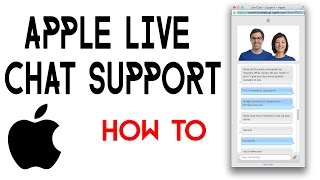 How to Access Apple Live Chat Support 2017