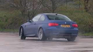 Bmw m3 e92 trying to drift!