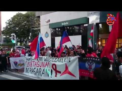 [Athletic Club-Shakhtar Donetsk] Kalejira eta kontzentrazioa Bilbon