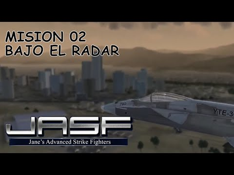 Jane 's Advanced Strike Fighters mision 02 - Bajo el radar  