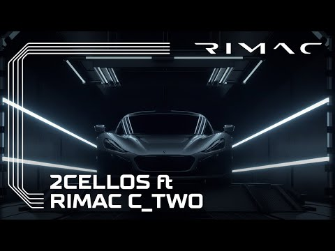 2CELLOS feat. Rimac C_Two: a car alive with technology