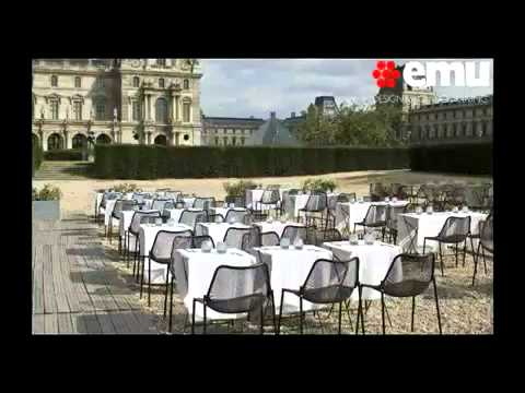 Emu Italian Outdoor Furniture Youtube