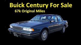1992 BUICK CENTURY 3300 SEDAN   VIDEO REVIEW FOR SALE
