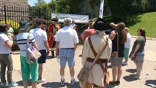 Battle of the Monongahela reenacted on anniversary