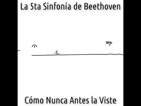 5я симфония Бетховена ...динамика и не только) Так судьба стучится в дверь