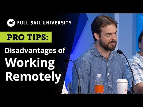 The Disadvantages and Pitfalls of Working Remotely | Full Sail University