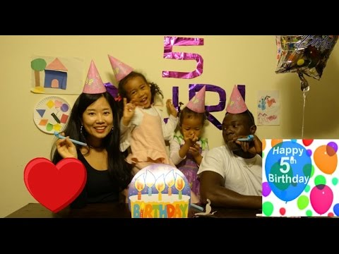 YURI'S 5TH SURPRISE BIRTHDAY PARTY!!! Vlog ep. 101 ft. Messages from the world