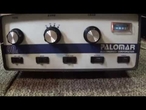 Palomar 90A vintage classic CB sweep tube linear amplifier