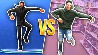 FORTNITE DANCE MOVES IN REAL LIFE CHALLENGE! (Wiggle, Best Mates) *NEW 2018*