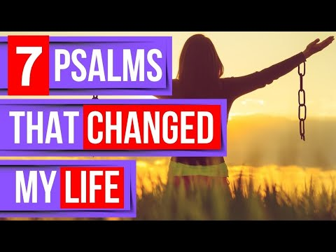 Psalm 91, 27, 1, 23, 121, 119, 51 (7 psalms that changed my life)(Bible verses for sleep)