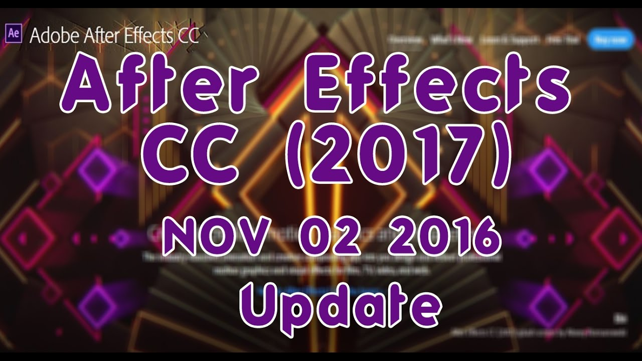 Adobe After Effects CC 2020.17.1.1.34 - Download