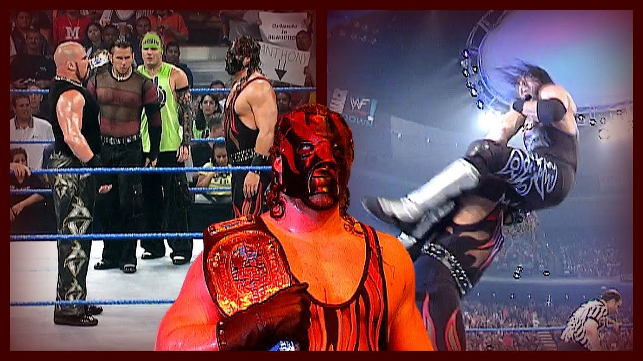 Kane & The Hardy Boyz w/ Lita vs X-Factor (Kane One Hand Chokeslams X-Pac)! 6/21/01