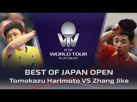 FULL MATCH - Tomokazu Harimoto vs Zhang Jike (2018) | BEST of Japan Open