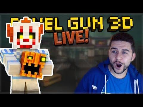 [LIVE] HALLOWEEN UPDATE & LVL 27+ BATTLES NEW MAPS! Pixel Gun 3D