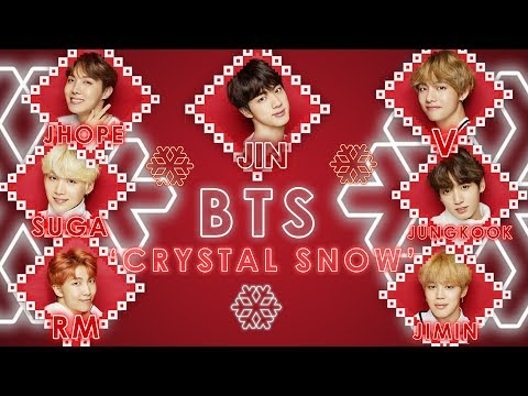BTS 'Crystal Snow'  - ( Romaji & eng Lyric )