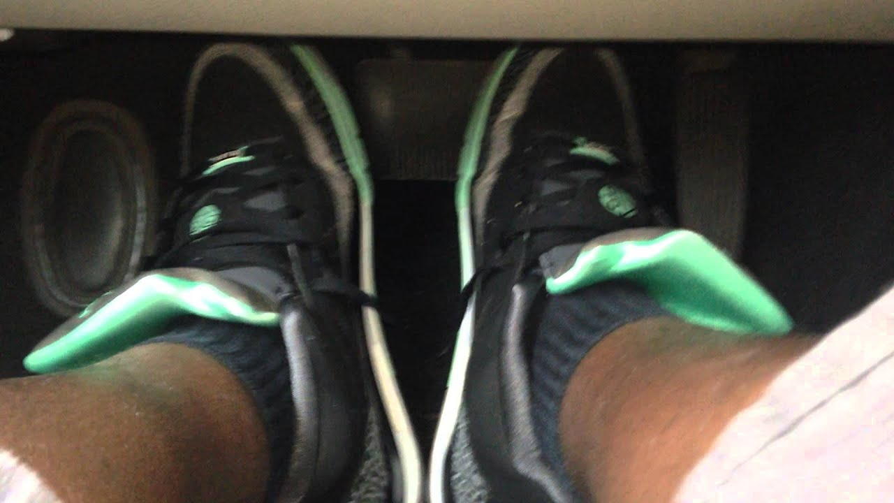 newest 2aa25 b7785 Driving in my Nike Air Jordan Son of Mars Low (Green Glow)